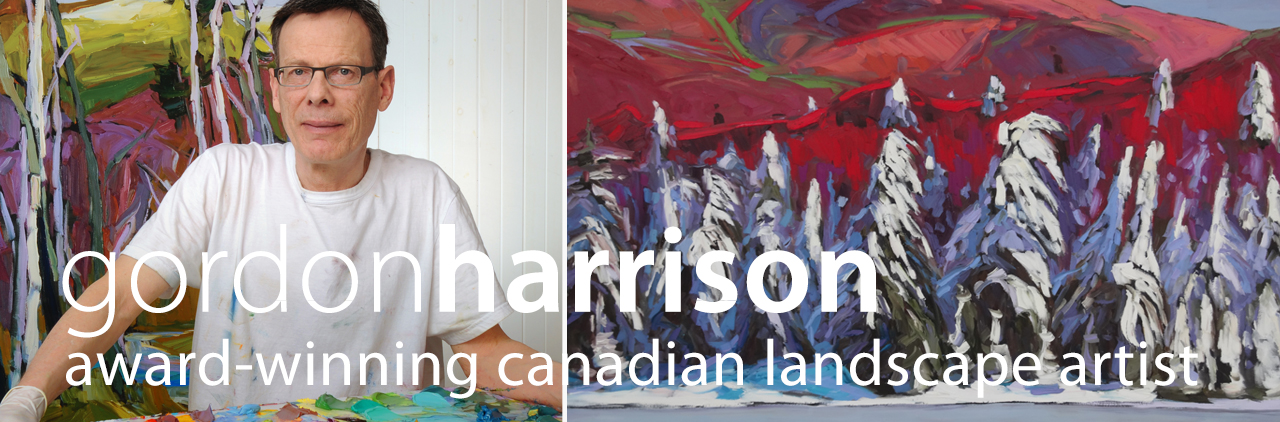 gordon harrison, award-winning canadian landscape artist