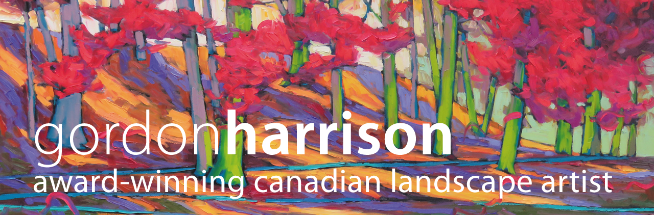 gordon harrison, peintre-paysagiste canadien primé